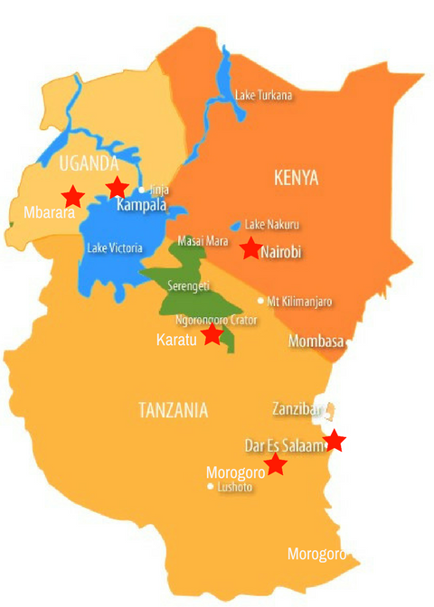 East Africa Tour – May, 2018 | IBB Talks